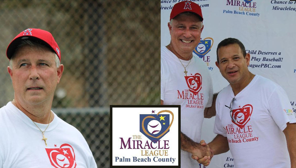 Coach Mark @ The Miracle League of Palm Beach County