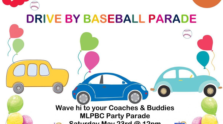 Drive By Baseball Parade