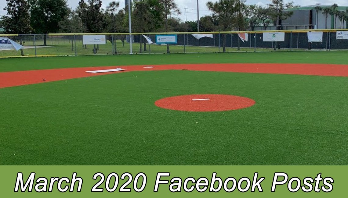 March 2020 Facebook Posts
