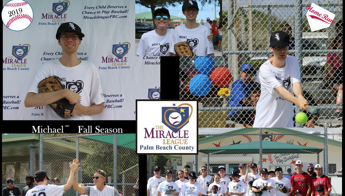 Michael @ The Miracle League of Palm Beach County